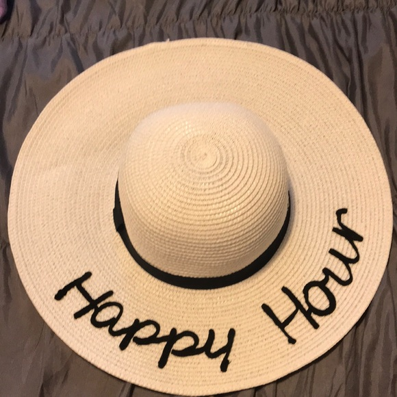 "august hat company Accessories - ""Happy Hour"" sun hat by August hat company"